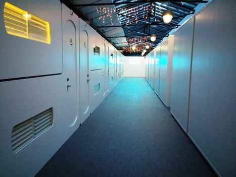 Cityhub : un hôtel-capsule insolite à Amsterdam | Travel & Backpacking | Scoop.it