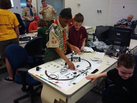 BSAMaryland: Scouts learning the robotics ... | STEM Studies | Scoop.it