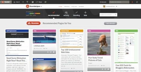 Get more Traffic to your Blog with StumbleUpon   Writing for Social Media   Scoop.it