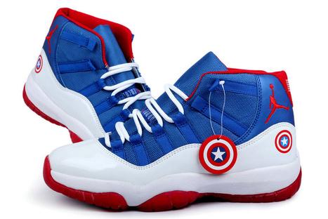 ... Hyperdunk 2013; lovelife-x-nike-ignite-shanghai-pack 3; Cheap Air  Jordan 11 Captain American Custom for Sale   Nike Basketball Shoes New  Release ...