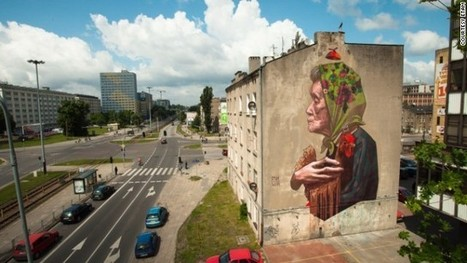 Bigger than Banksy: Polish street art goes large - CNN International | CityGraffiti | Scoop.it