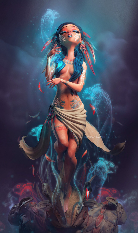Amazing 3D characters by Carlos Ortega Elizalde | Incredible Snaps | incredible snaps | Scoop.it