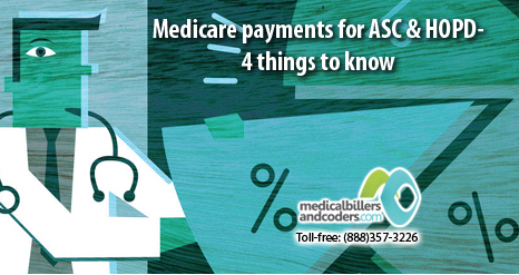 Medicare payments for ASC and HOPD- 4 things to know | Medical Billing And Coding Services | Scoop.it