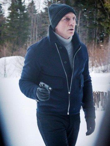 Spectre James Bond Lake Blue Jacket | CELEBRITY OUTFITS | Scoop.it