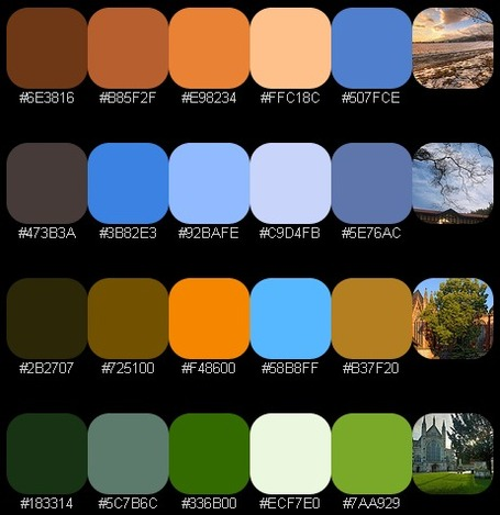 Identify Key Colors Instantly and Extract a Color Palette From Any Photograph with Color Hunter | Presentation Tools | Scoop.it