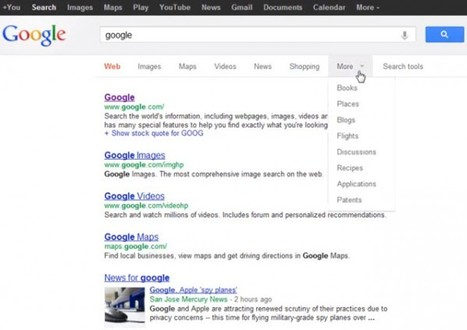 Google Testing New Navigation Interface: New Ad Location To Come? | E-commerce | Scoop.it