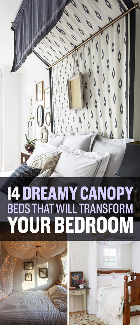 14 Dreamy DIY Canopy Beds That Will Transform Your Bedroom | LibertyE Global Renaissance | Scoop.it