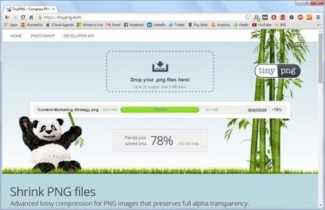 Laadtijd van je site verkorten? Optimaliseer je afbeeldingen [how to] | be-odl | Scoop.it