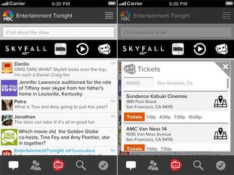 ConnecTV unveils second screen ad network with Google-like keyword targeting - Lost Remote | second screen | Scoop.it