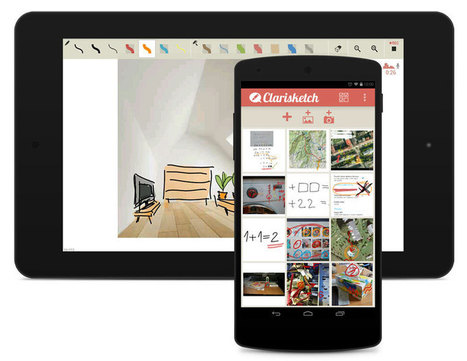 Clarisketch -Take a Picture, Talk & Draw | Technology in Art And Education | Scoop.it