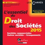 L'essentiel du droit des sociétés 2015 | Sélection de nouveaux livres | Scoop.it