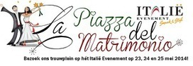 La Piazza del Matrimonio - Bezoek ons trouwplein op het Italie Evenement op 23, 24 en 25 mei 2014! | Good Things From Italy - Le Cose Buone d'Italia | Scoop.it