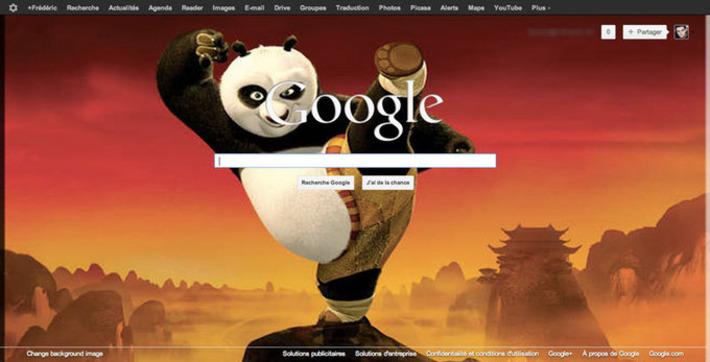 Comment changer l'image de la page d'accueil de Google ?   TIC et TICE mais... en français   Scoop.it