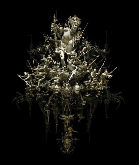 Les sculptures de Kris Kuksi | Artistes et Créateurs | Scoop.it