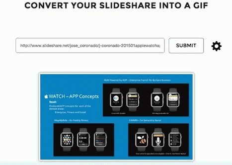 Como Convertir Presentaciones Sildershare en animaciones GIF | PCWebtips.com | Profesionales virtuales | Scoop.it