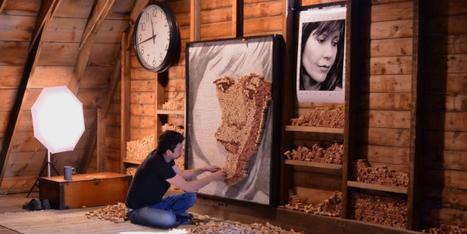 TrendsNow | Inspiration > How to make a wine cork portrait | L'Etablisienne, un atelier pour créer, fabriquer, rénover, personnaliser... | Scoop.it