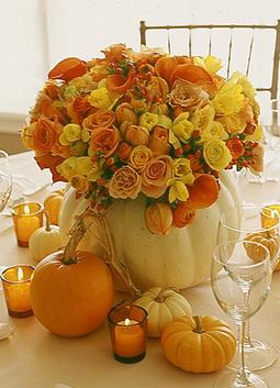 beautifulflowersinwhitepumpkin.jpg (300x415 pixels)   Autumn wedding ideas   Scoop.it