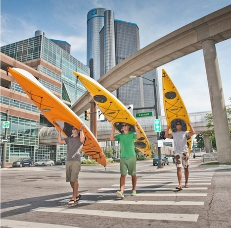 Best Paddling Towns: Detroit, Michigan - CANOE & KAYAK | Detroit Rises | Scoop.it