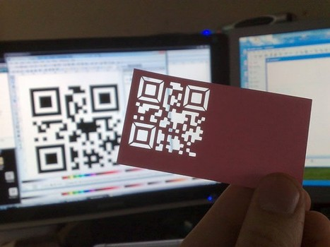 22 Great Examples of QR Code Business Cards | AniseSmith QR codes | Scoop.it