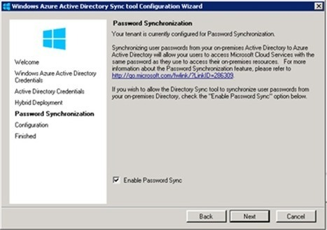 Making it simple to connect Windows Server AD to Windows Azure AD with password hash sync - Active Directory Team Blog - Site Home - MSDN Blogs | nodeJS and Web APIs | Scoop.it