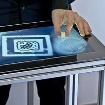 Biometric First: Touchscreen Recognizes Fingerprints   Skylarkers   Scoop.it