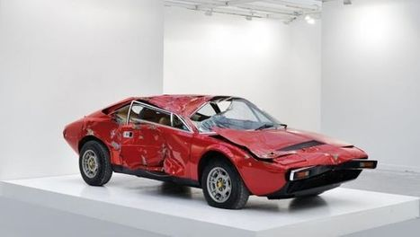 Ferrari Dino: Bertrand Lavier la trasforma in opera d'arte | Critical & Creative thinking | Scoop.it