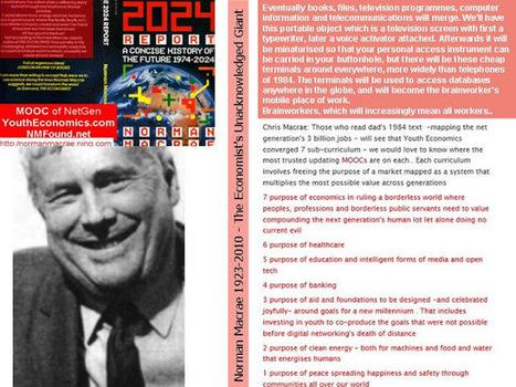 curriculum of The Economist's Unacknowledged Giant   2013 The Year of The MOOC & The Economist's 170th birthday   Scoop.it