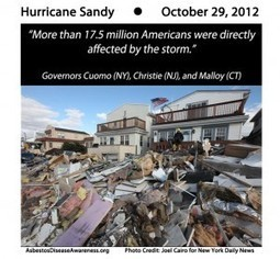 Asbestos Disease Awareness Organization (ADAO): What do you want to ask or tell Congress in your Hurricane Sandy 6-word quote?   Asbestos and Mesothelioma World News   Scoop.it