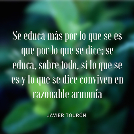 ¿Quieres ser un profesor así? | Javier Tourón - Talento, Educación, Tecnología | Altas Capacidades Intelectuales | Scoop.it