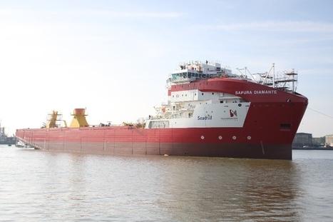 Subsea World News - IHC Merwede Launches SAPURA DIAMANTE Pipelayer | Subsea | Scoop.it