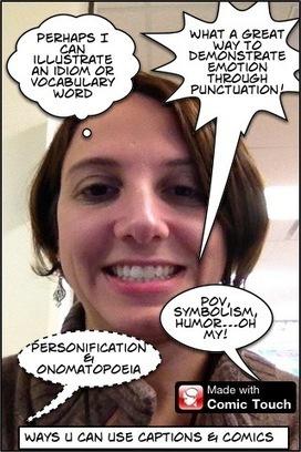 Comics 4 the iClassroom: Episode 14 « techchef4u | Skolbiblioteket och lärande | Scoop.it