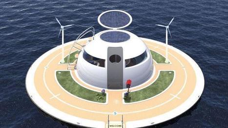 Entre maison et bateau, une soucoupe pour vivre sur et sous l'eau | Construire sa maison avec un architecte | Scoop.it