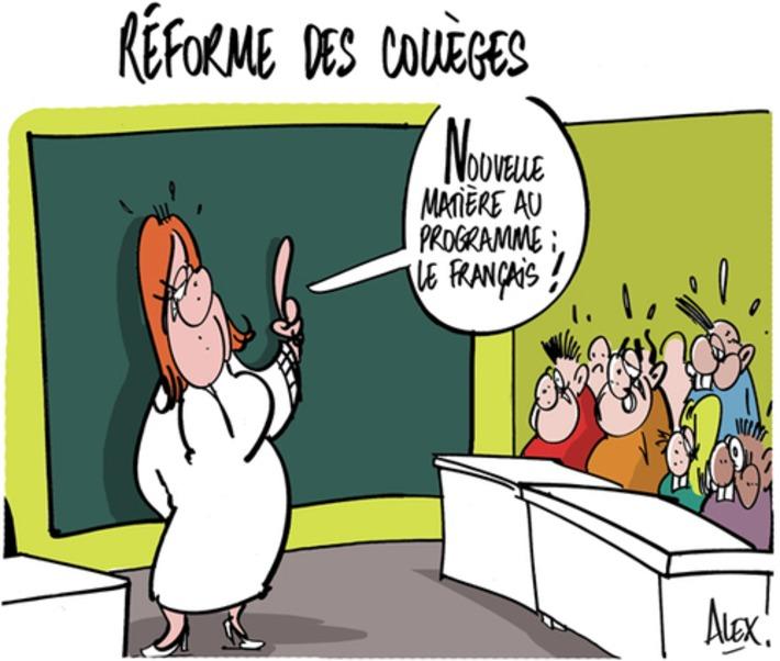 Réforme des collèges | Baie d'humour | Scoop.it