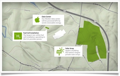 Apple's Data Centers to Be Powered by 100% Renewable Energy   LdS Innovation   Scoop.it