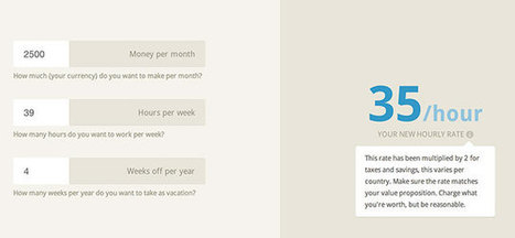 Calculer combien facturer vos heures de travail - TechRevolutions | CRAKKS | Scoop.it