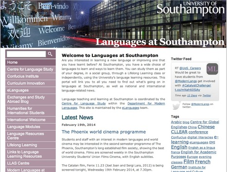 Find out about Modern Languages news and events on our blog | Get Ready For Languages at Southampton | Scoop.it