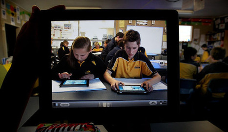 School uses iPads, iPods in class | Professional Learning for Teachers | Scoop.it