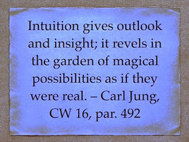 """Carl Jung on """"Intuition."""" Lexicon 