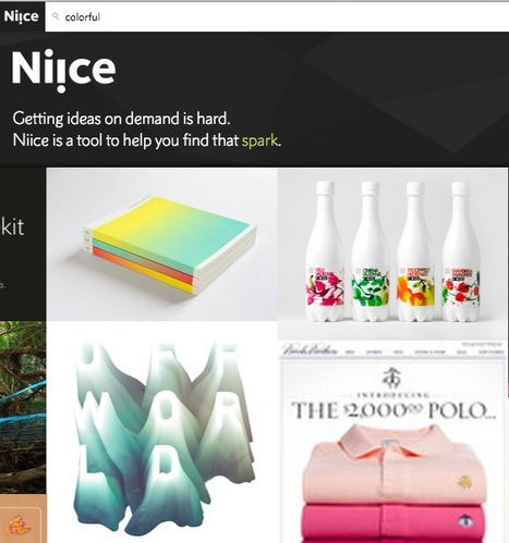Design Inspiration: Niice - A Curated Search Engine To Find, Collect and Organize Visual Ideas into Mood Boards | The Web Design Guide and Showcase | Scoop.it