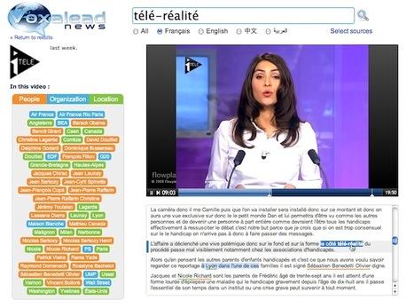 Voxalead. Moteur de recherche videos. | Time to Learn | Scoop.it