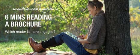 People spend upto 6 minutes reading Digital Edition Brochures | iPad Brochure App | Scoop.it