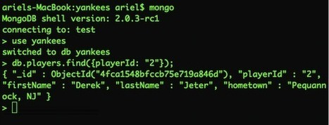A Simple Play! Application with a MongoDB backend (Part2) | playframework | Scoop.it