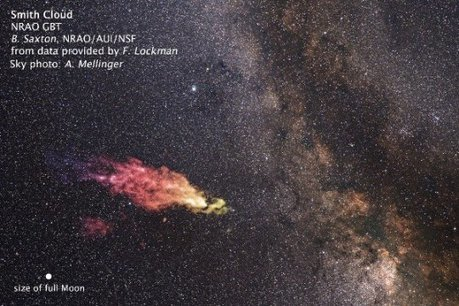 Monstrous high-velocity gas cloud boomerangs back to our galaxy | Amazing Science | Scoop.it