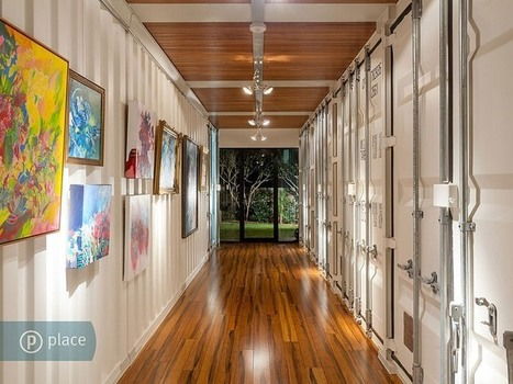 Striking Modern Residence Built From 31 Containers in Australia | Architecture To Admire | Scoop.it