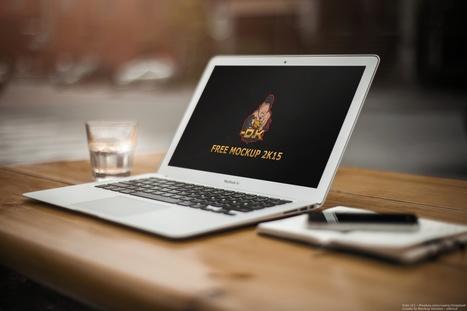 Macbook Air MockUp 2K15 for free   Freakinthecage Webdesign Lesetips   Scoop.it