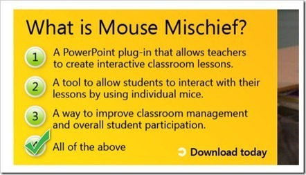 Add a little mischief to your next PowerPoint Presentation with Mouse Mischief | Digital Presentations in Education | Scoop.it