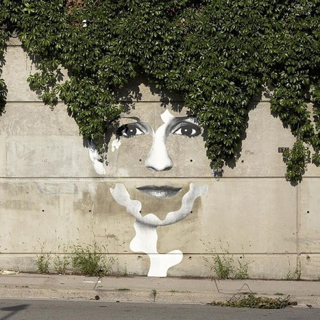 28 Brilliant Street Artists Who Work With Their Surroundings To Make Masterpieces | slow-design | Scoop.it