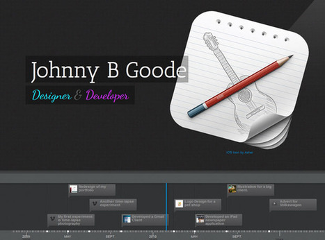 Timeline Portfolio | Tutorialzine | Coding (HTML5, CSS3, Javascript, jQuery ...) | Scoop.it