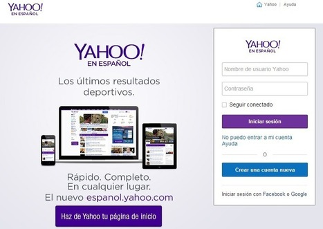 Iniciar Sesion en Yahoo | crearcorreo.mx | Scoop.it