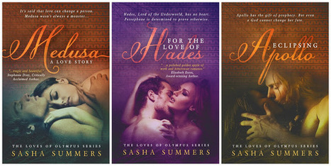 Diane's Book Blog: Loves of Olympus Series by Sasha Summers Cover Reveal   Books   Scoop.it